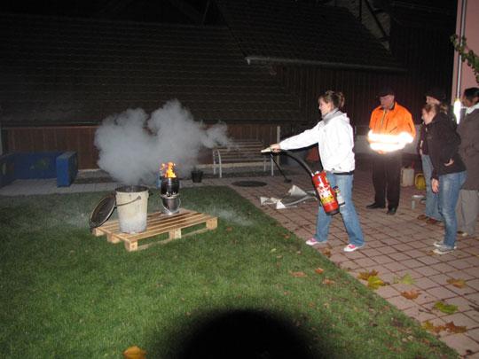 Feuerwehrübung 2009