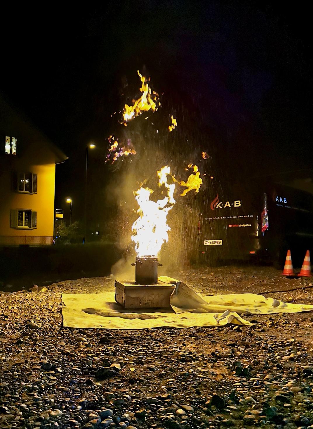 Feuerschutzübung für die Mitarbeitenden