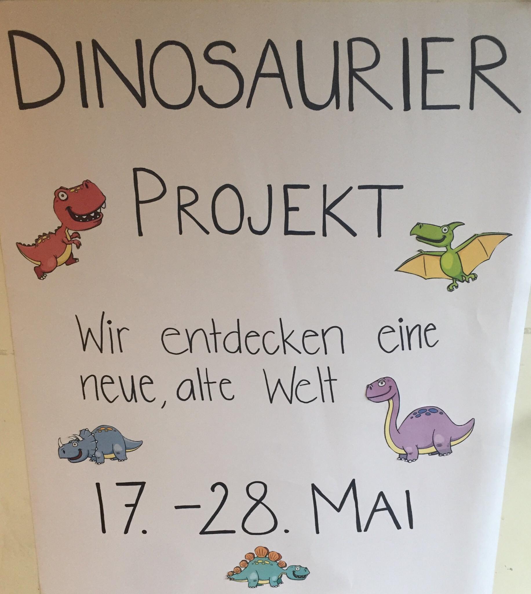 Projekt Dinosaurier